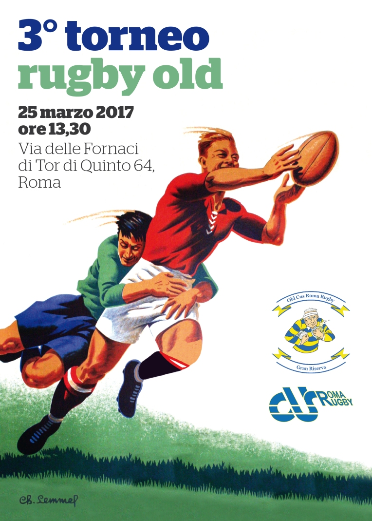Terzo Torneo CUS Roma Rugby OLD 2017